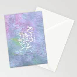 He First Loved Us - 1 John 4:19 Stationery Cards