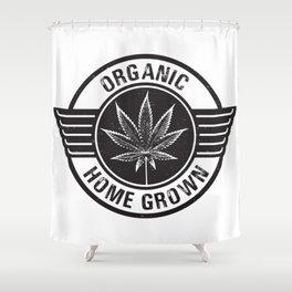 Organic Home Grower Shower Curtain