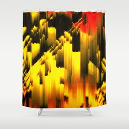 Memories And Fire Shower Curtain