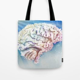 Mind in the Clouds Tote Bag