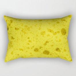 Yellow sponge Rectangular Pillow