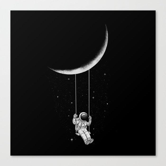 Moon Swing Leinwanddruck