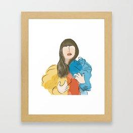 Pr*mal Heart Framed Art Print