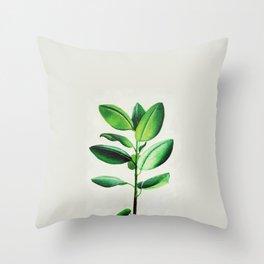 Ficus Throw Pillow
