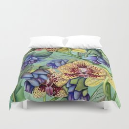 Lost Wing In Bloom Duvet Cover
