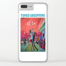 Tango argentino por Diego Manuel Clear iPhone Case
