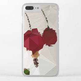 Poms Clear iPhone Case