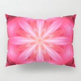 Heart Star Mandala Pillow Sham
