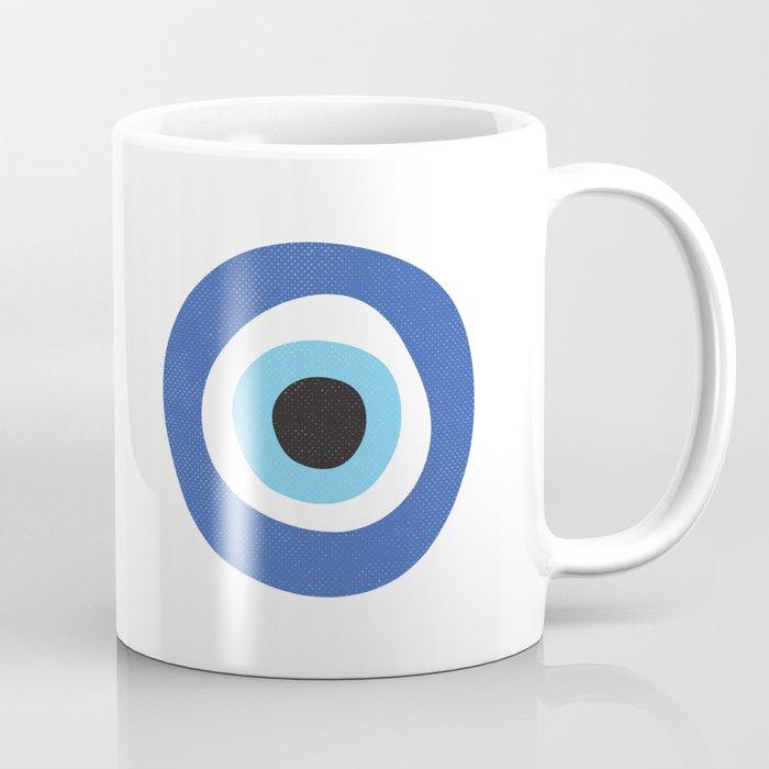 Evil Eye Symbol Kaffeebecher