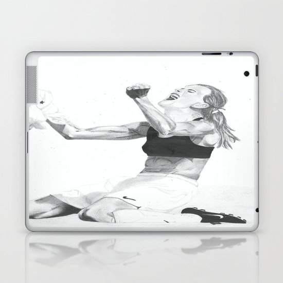 Brandi Chastain Laptop & iPad Skin