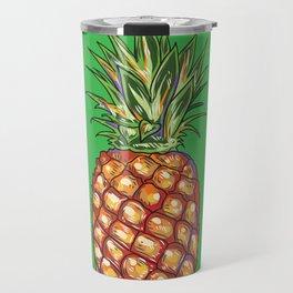 Pineapple, tropical, Hawaii Travel Mug