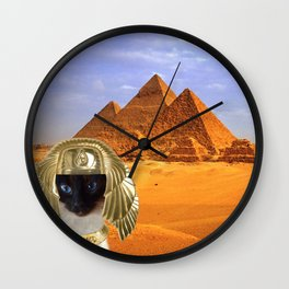 Egptian Lover Wall Clock