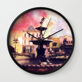 Fountain Square Park Wall Clock