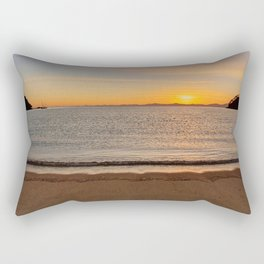 Sunrise in the Bay Rectangular Pillow