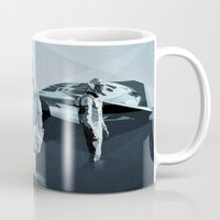 interstellar Mugs featuring Interstellar by ANDRESZEN