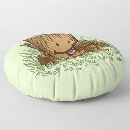 The Popsicle Log Floor Pillow