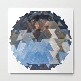 Kaleidoscopio Gotico Metal Print