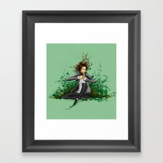 The green thumb curse II Framed Art Print
