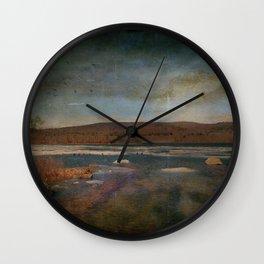 Solitary Loveliness Wall Clock