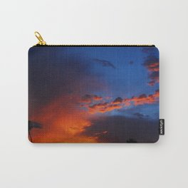 Under a Fiery Sky Carry-All Pouch
