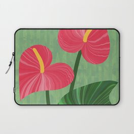A Pair Of Anthurium Hearts Laptop Sleeve