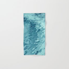 Aqua Shoreline Hand & Bath Towel