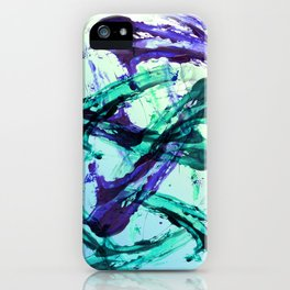 Vaporwave Style Abstraction iPhone Case