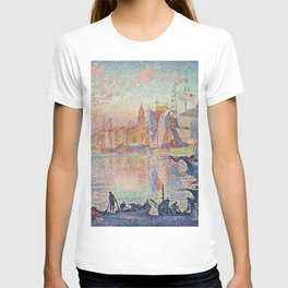 Paul Signac - The Port Of Saint Tropez T-shirt