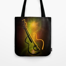Guitar M-o-L Tote Bag