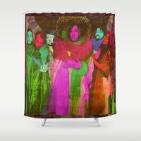 montreal Shower Curtains featuring of Montreal  by Nina Twin