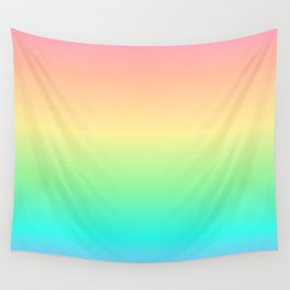 Pastel Rainbow 2 Wall Tapestry