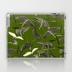 just whales green Laptop & iPad Skin
