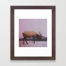 Elk Framed Art Print