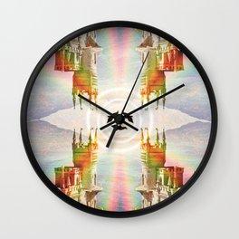 Noirs corridors Wall Clock