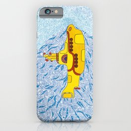 My Yellow Submarine iPhone Case