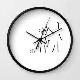 hairdresser haircut hairdresser Wall Clock