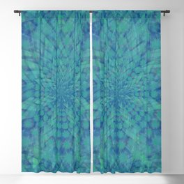 Lotus of Divinity Blackout Curtain