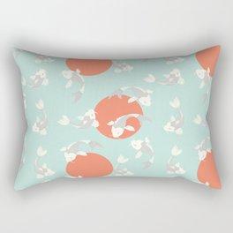 Koi fish pattern 005 Rectangular Pillow
