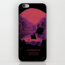 Young Wounds iPhone Skin
