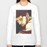 zayn malik Long Sleeve T-shirts featuring Malik by Rosketch
