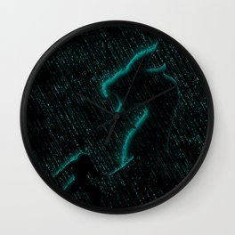 Ninja Battle Wall Clock