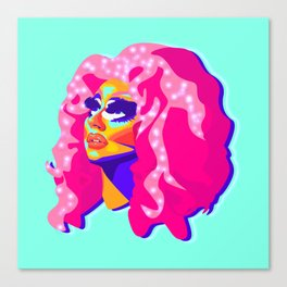 QUEEN TRIXIE MATTEL Canvas Print