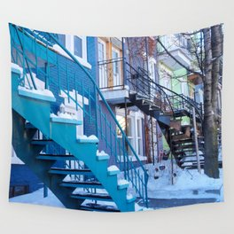 Montreal Local Color Wall Tapestry