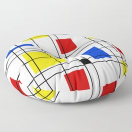 Neo-Plasticism 1 Floor Pillow