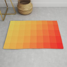 Two Tone Fire Rug