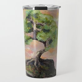 Bonsai in the sky Travel Mug