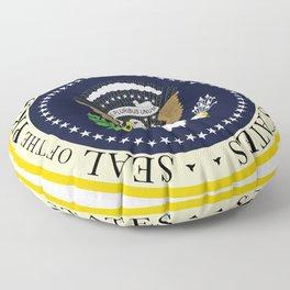 US Presidential Seal Floor Pillow