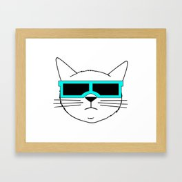 Cool Cat 2 Framed Art Print