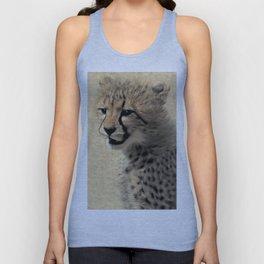 Cheetah cub Unisex Tank Top