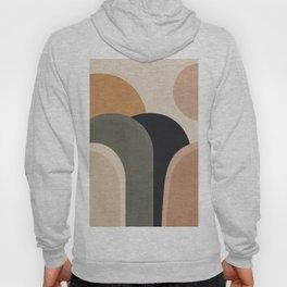 abstract minimal sunrise Hoody